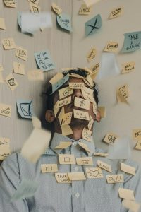 Stress Post It Note Image